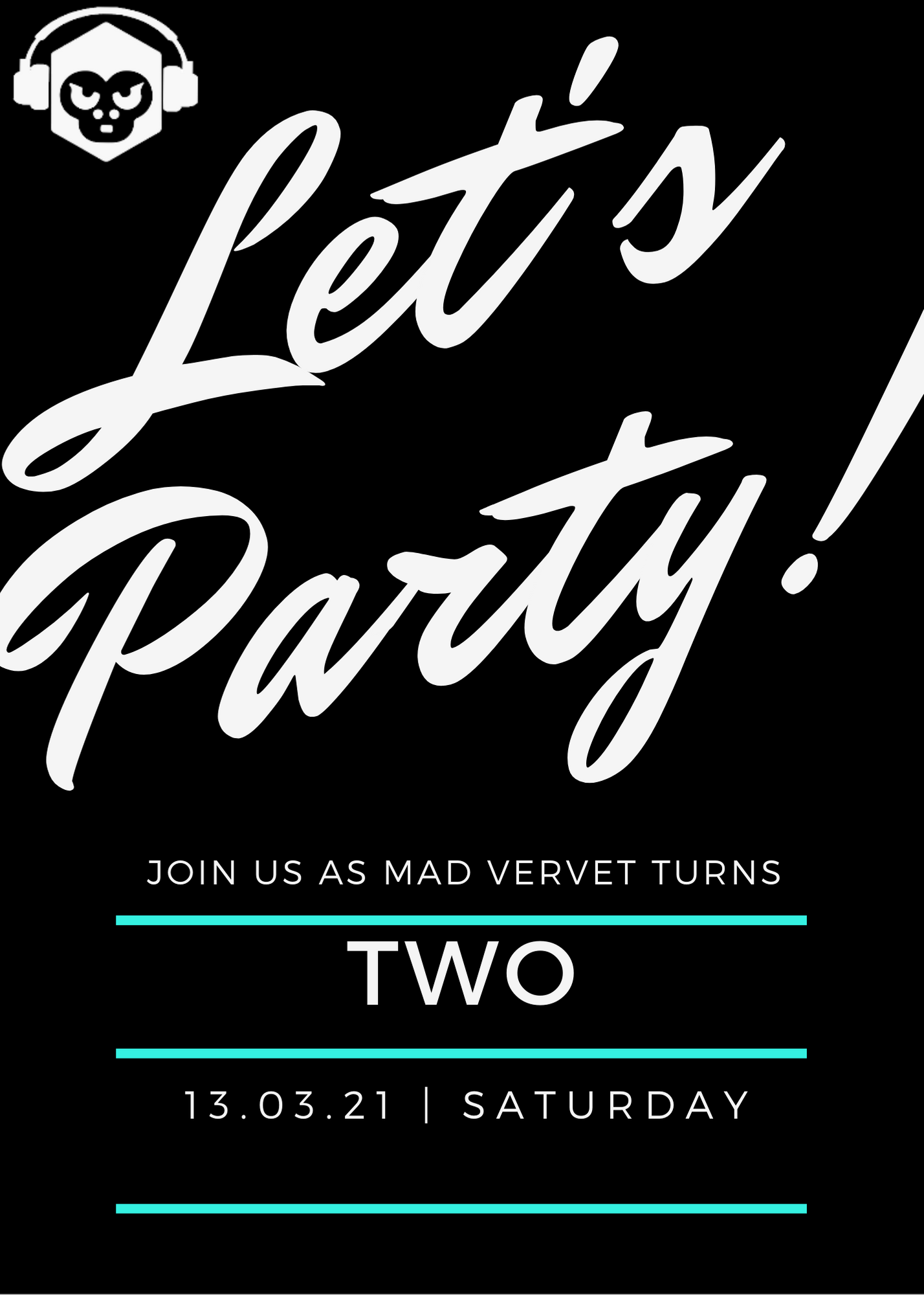Let's_Party_Black_and_White_21st_Birthday_Party_Invitation_Portrait (1)